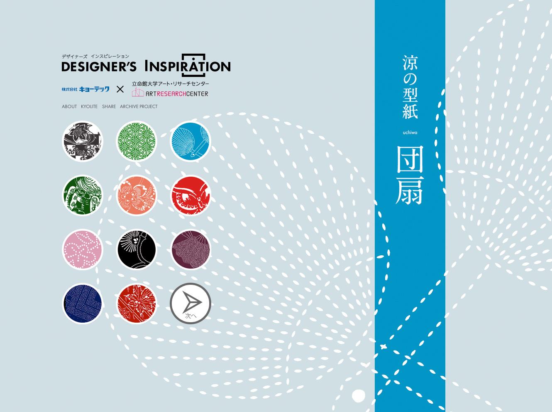 Designer's Inspiration (キョーライトスペシャルサイト)