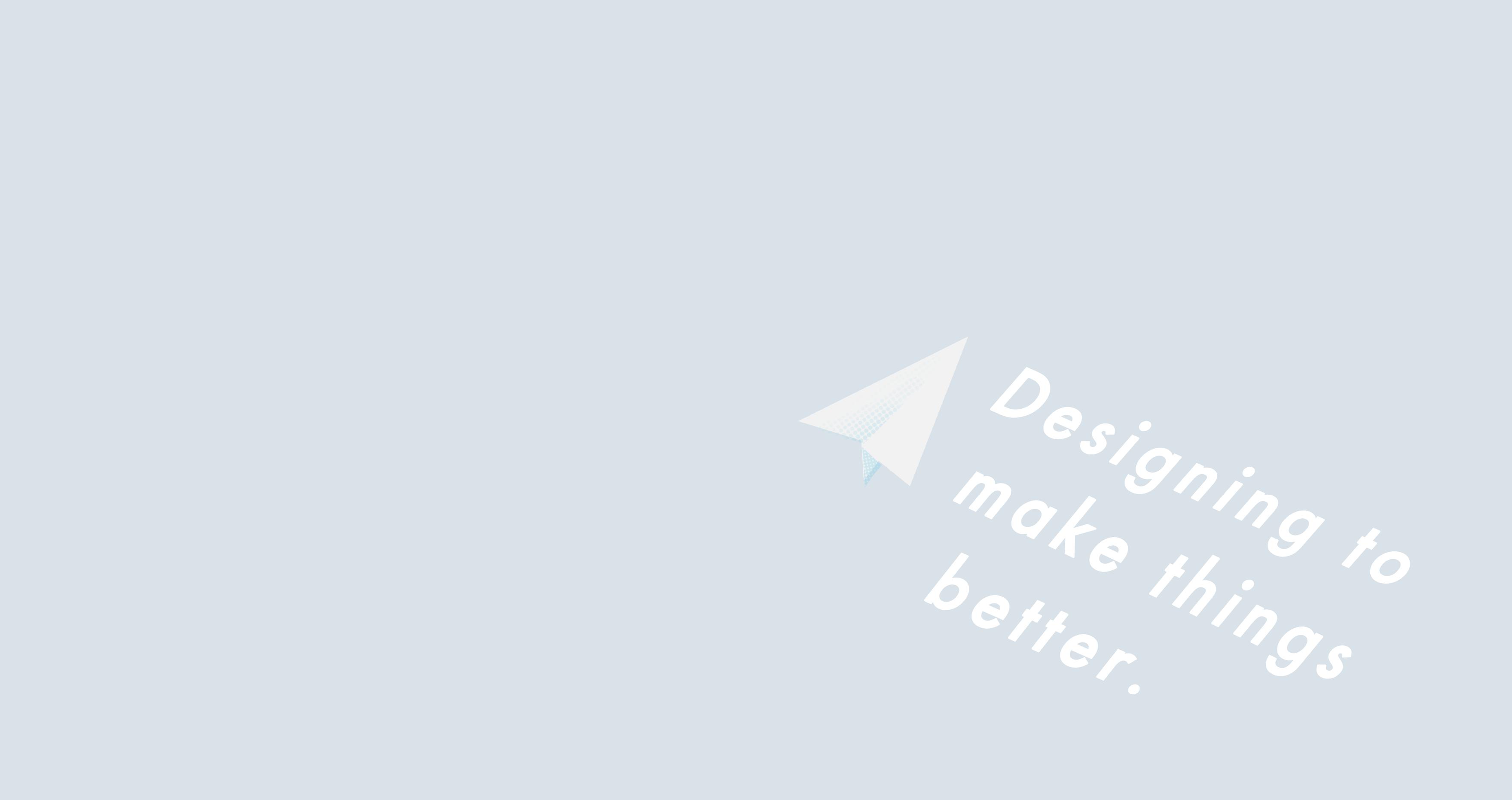 京都のWeb/デザイン会社 F&Iクリエイトのコンセプト:「Designing to make things better」